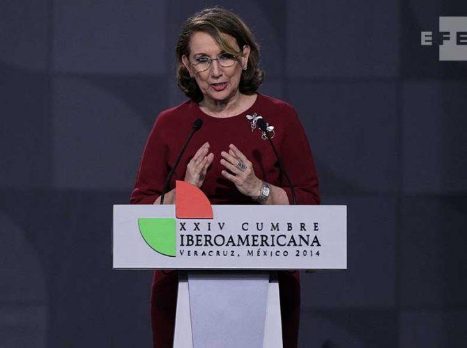 Rebeca Grynspan, Secretária-Geral Ibero-Americana, no Encontro Ibero-Americano de Inovação Cidadã da Cúpula de 2014